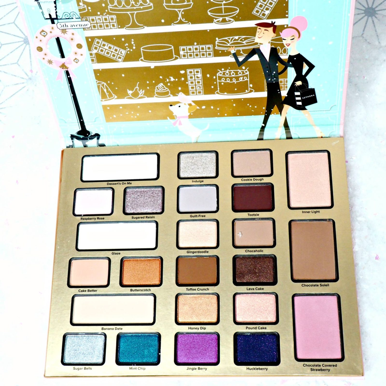 Too Faced Christmas in New York House of Paper Doll