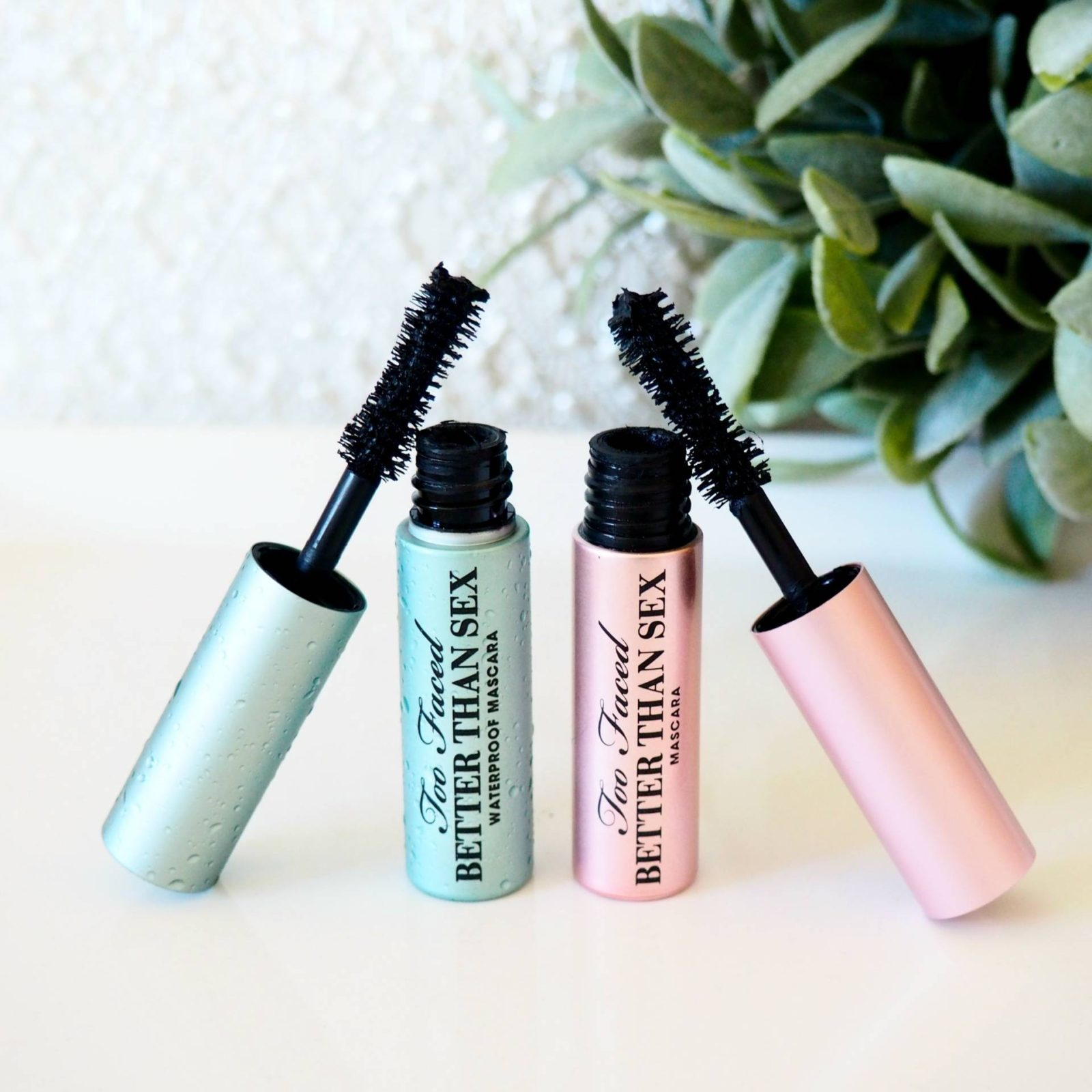 Too Faced Better Than Sex Mascara Waterproof Vs Original