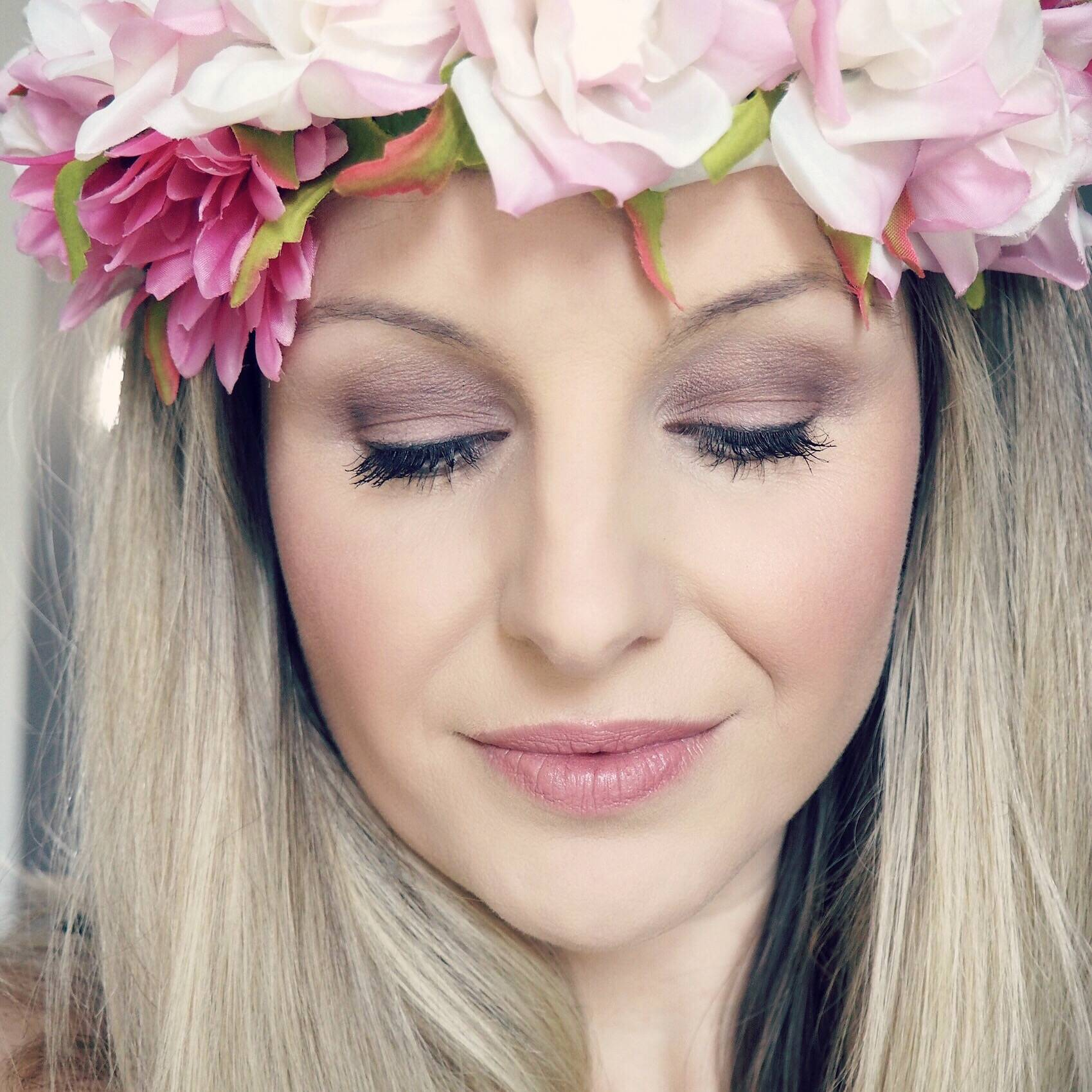 Soft Romantic Bridal Look