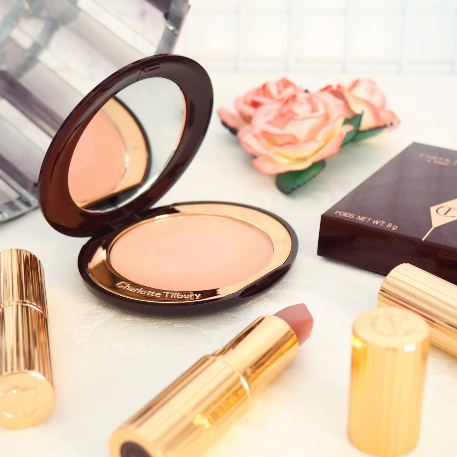 Charlotte Tilbury Cheek to Chic Blush Ecstasy