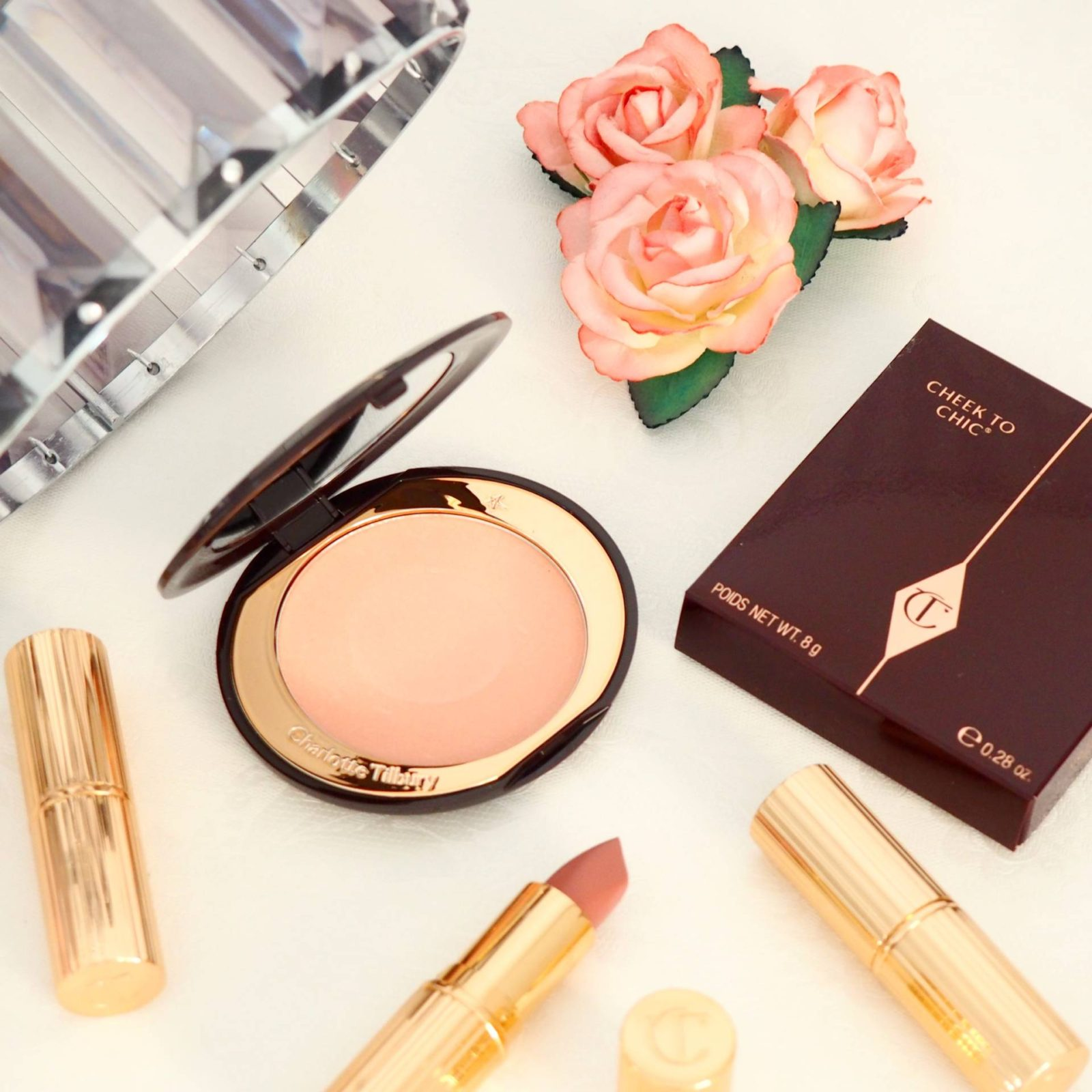 Charlotte Tilbury Cheek to Chic Swatches