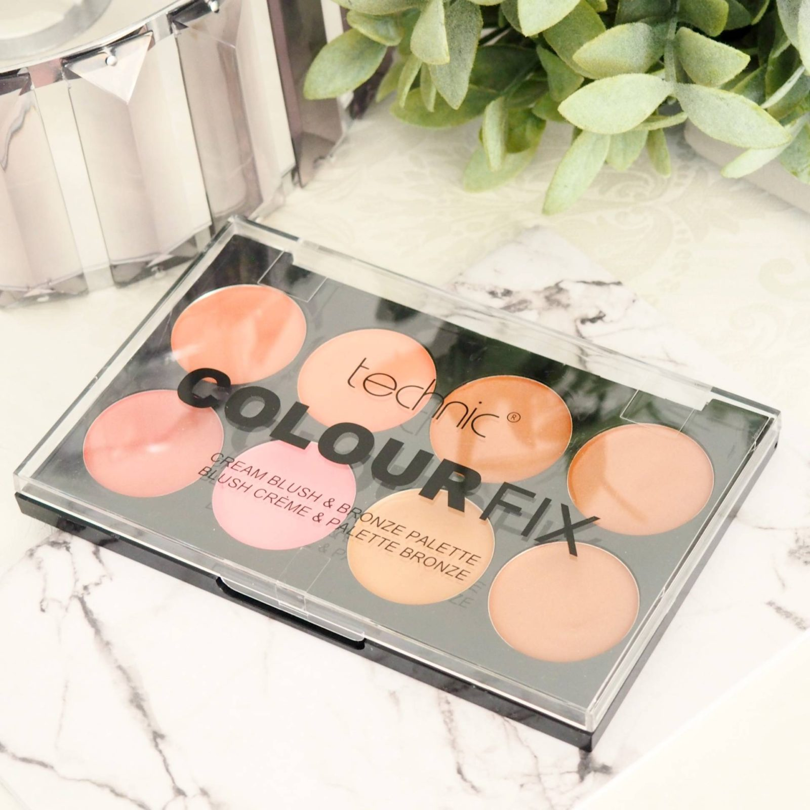 Technic Colour Fix Cream Palette