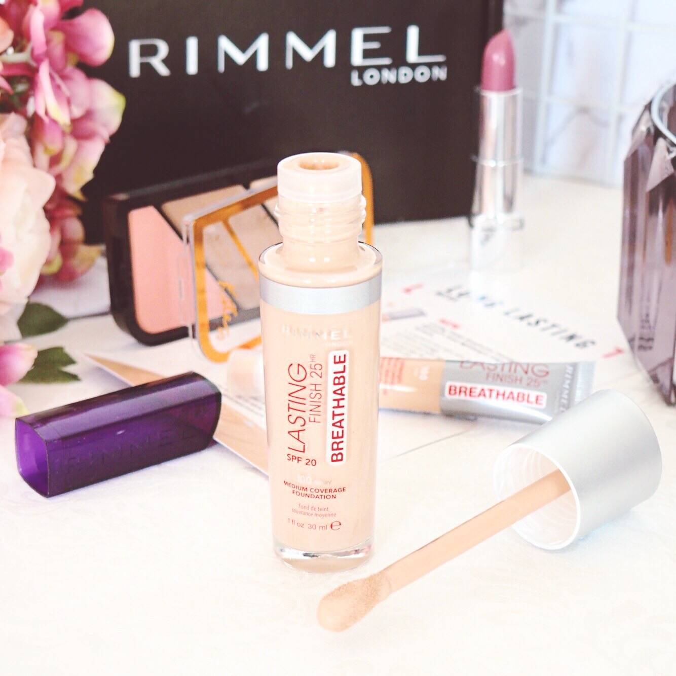 Rimmel London Long Lasting Breathable Foundation