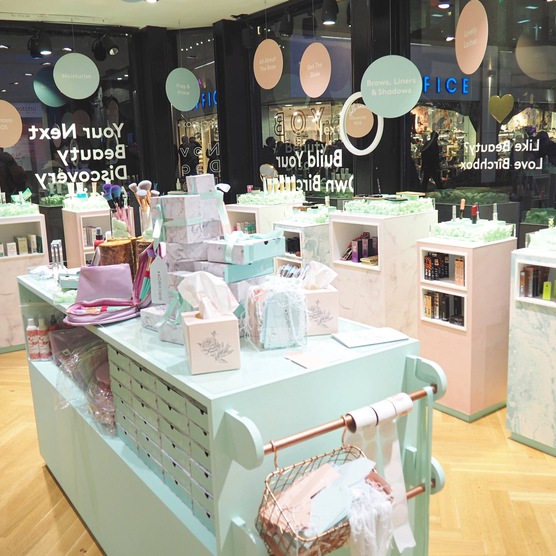 Birchbox Pop Up Shop London