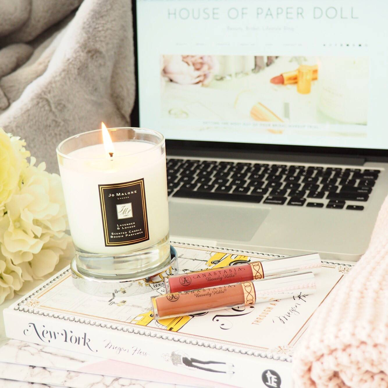 Jo Malone Lavender and Lovage Candle Review