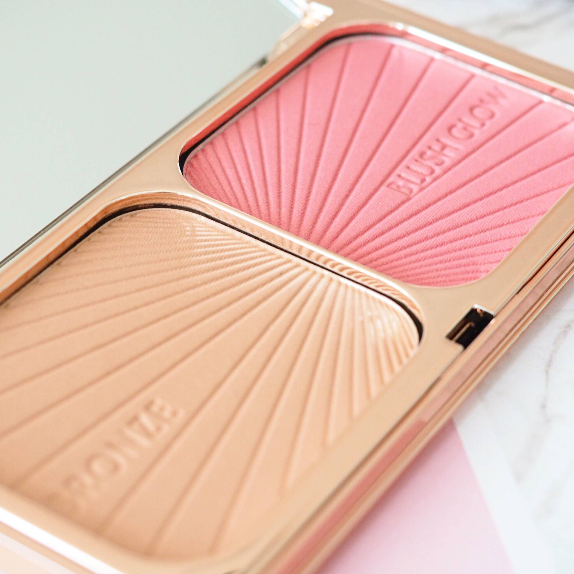 Charlotte Tilbury Bronze and Blush Glow Palette