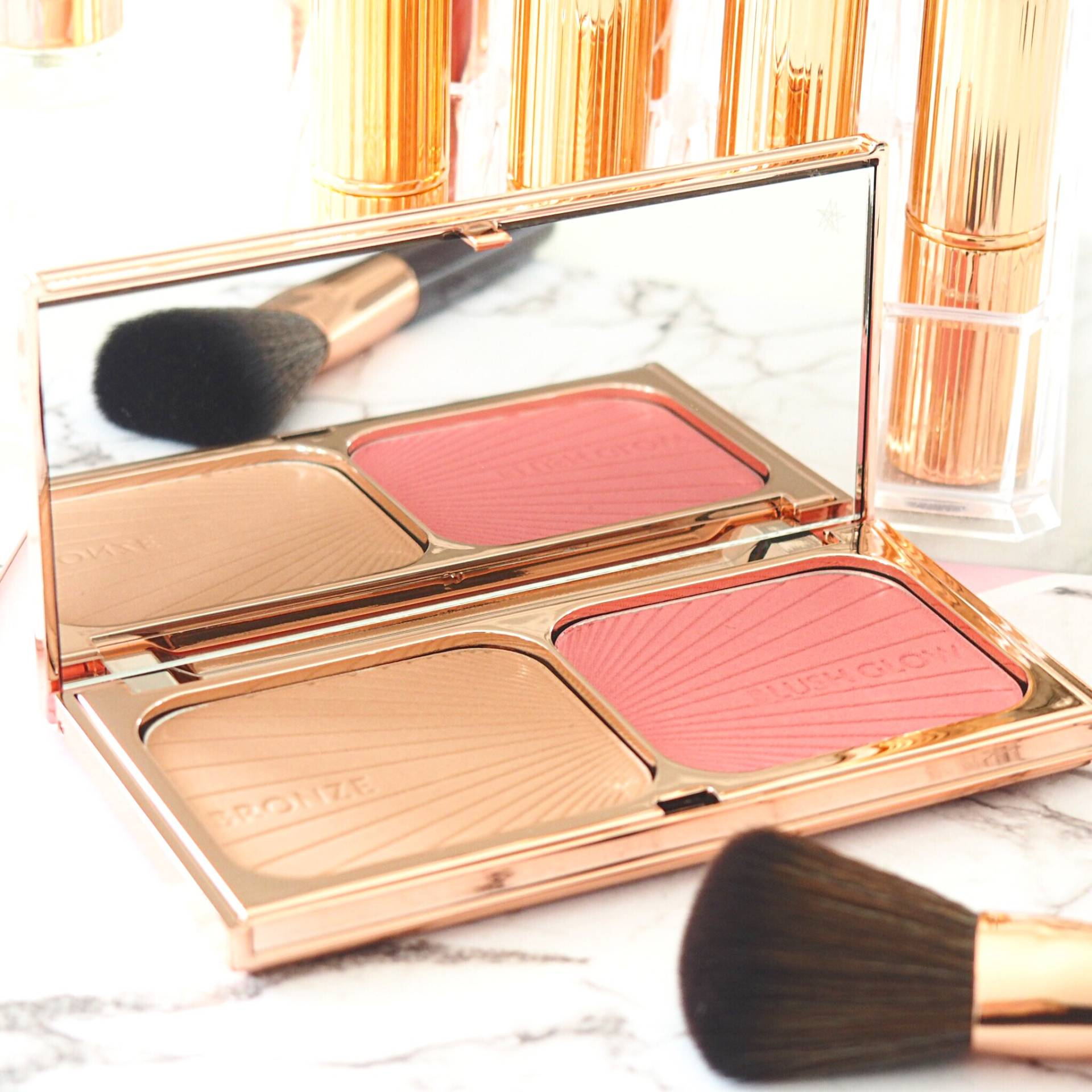 Charlotte Tilbury Bronze and Blush Palette
