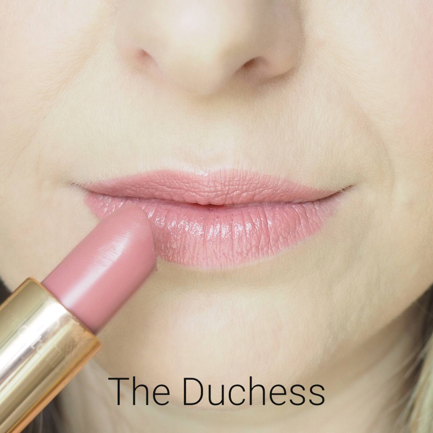 Charlotte Tilbury The Duchess Lipstick Swatches