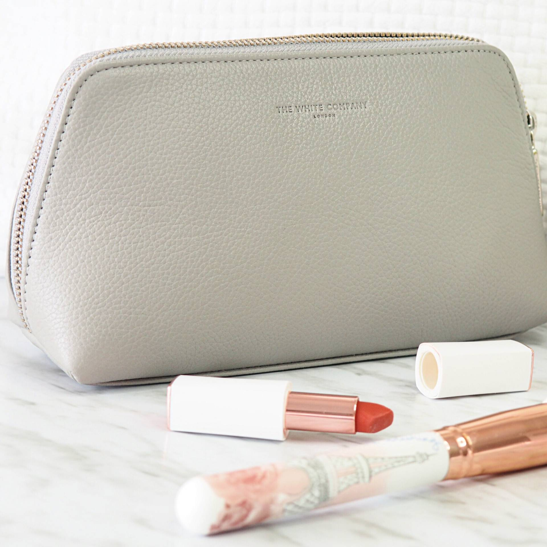 The White Company Makeup Bag