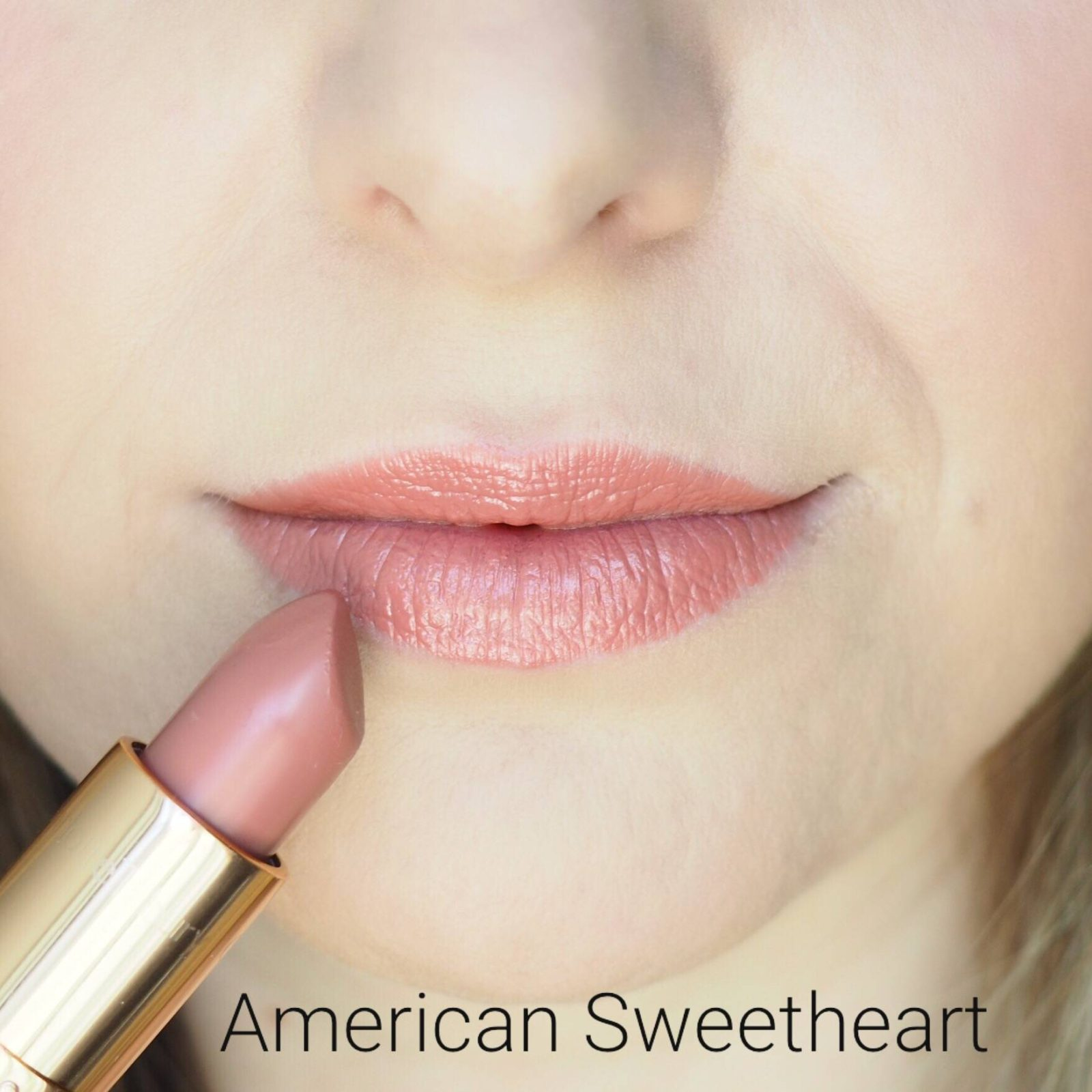 Charlotte Tilbury American Sweetheart Lipstick Swatches