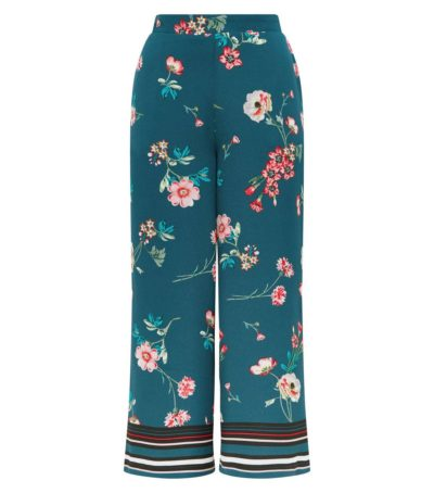 Dorothy Perkins Green Cropped Trousers