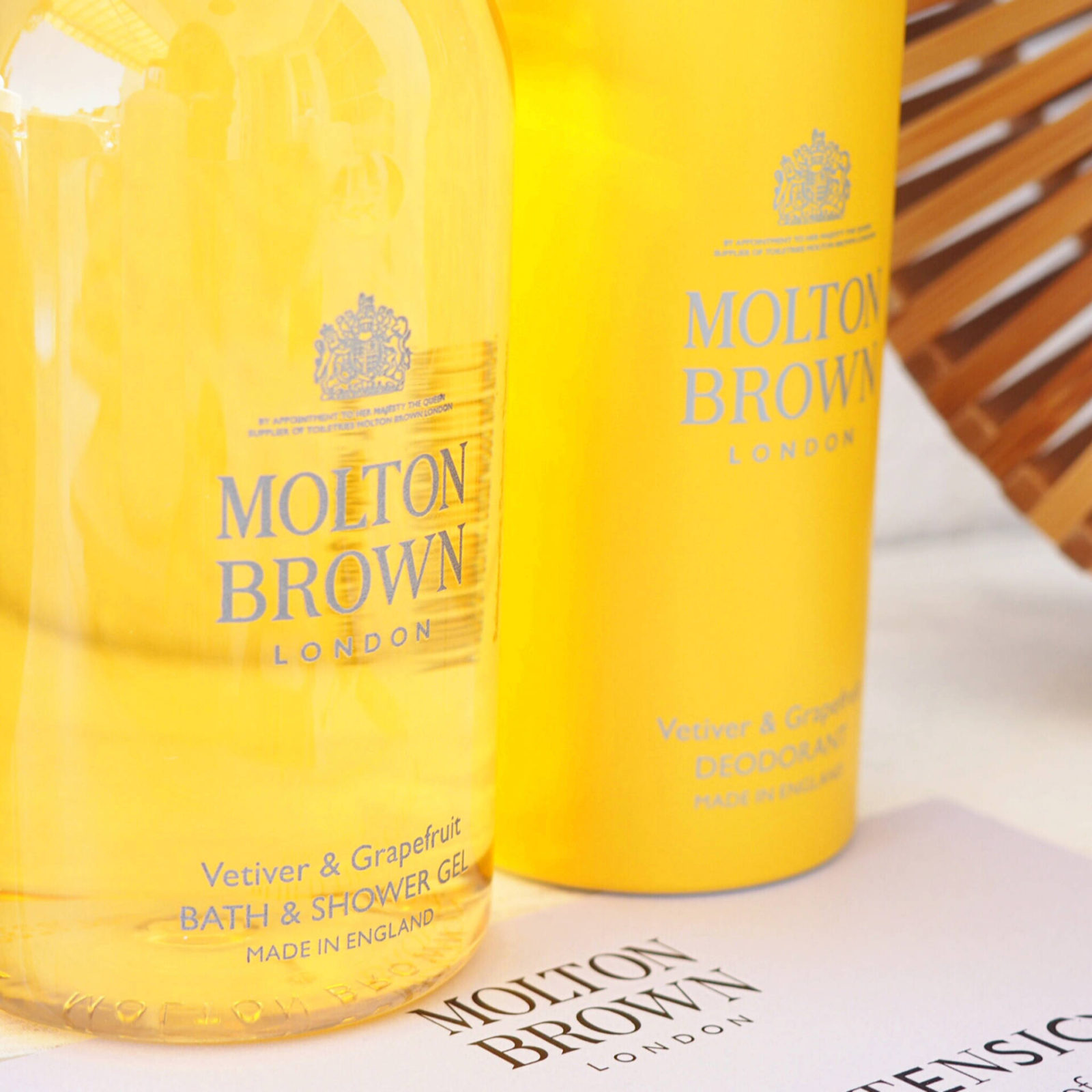 Molton Brown Vetiver and Grapefruit