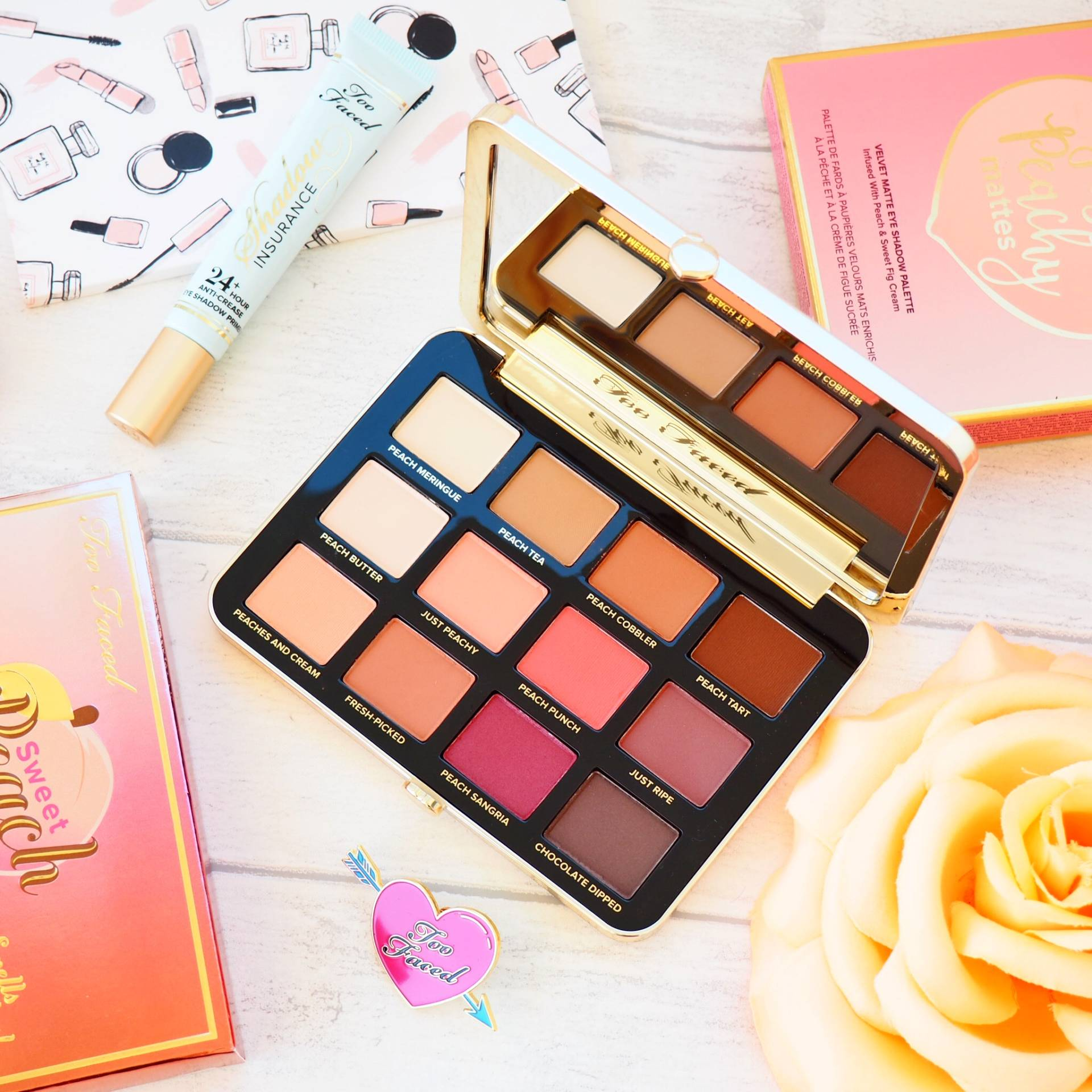 Too Faced Peachy Matte Eyeshadow Palette