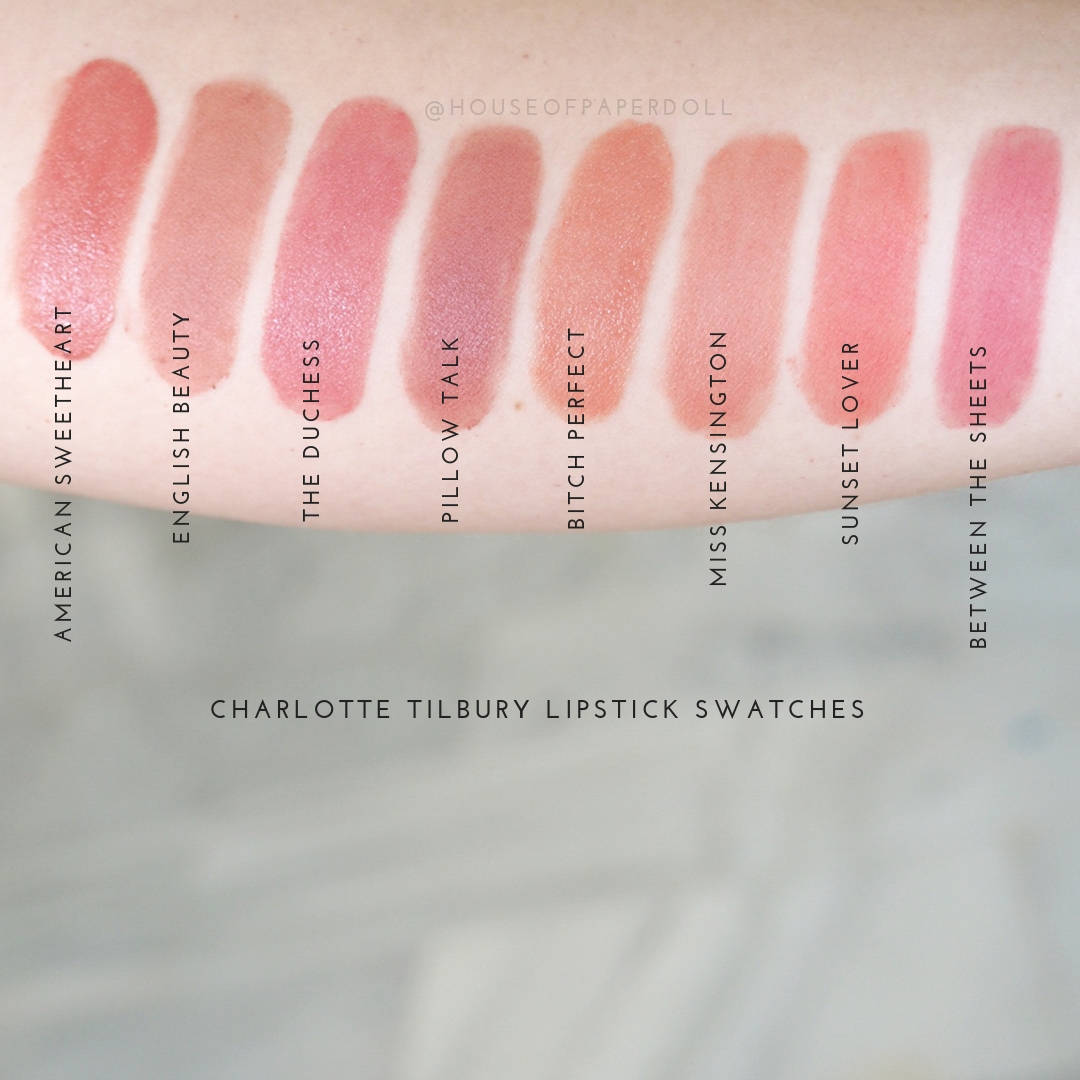 Charlotte Tilbury Miss Kensington Lipstick Review And