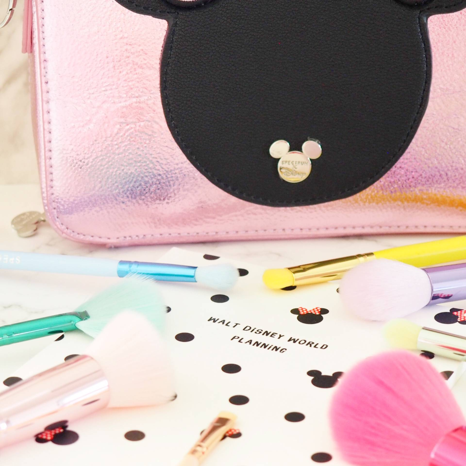 Spectrum Brushes x Disney Minnie Mouse Collection