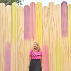 Disney Instagram Walls Popsicle Wall